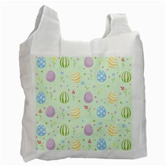 Easter Pattern Recycle Bag (two Side)  by Valentinaart
