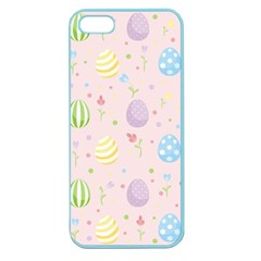 Easter Pattern Apple Seamless Iphone 5 Case (color)