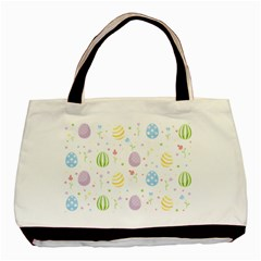 Easter Pattern Basic Tote Bag by Valentinaart