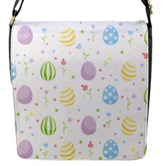 Easter Pattern Flap Messenger Bag (s) by Valentinaart