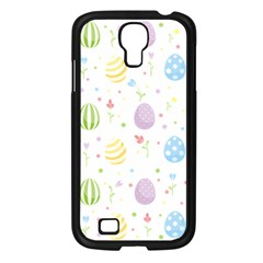 Easter Pattern Samsung Galaxy S4 I9500/ I9505 Case (black) by Valentinaart