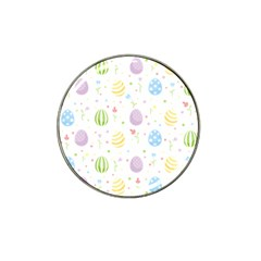 Easter Pattern Hat Clip Ball Marker (4 Pack) by Valentinaart