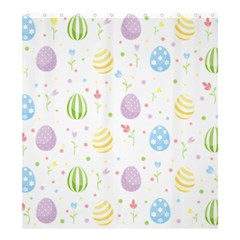 Easter Pattern Shower Curtain 66  X 72  (large)  by Valentinaart