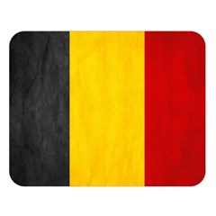 Belgium Flag Double Sided Flano Blanket (large)  by Valentinaart