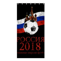 Russia Football World Cup Shower Curtain 36  X 72  (stall)  by Valentinaart