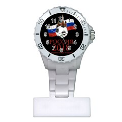 Russia Football World Cup Plastic Nurses Watch by Valentinaart