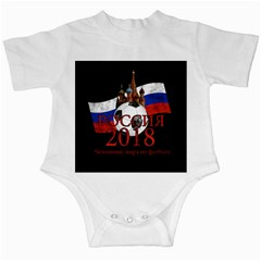 Russia Football World Cup Infant Creepers by Valentinaart