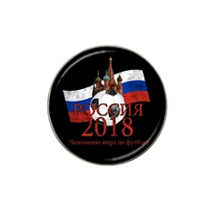 Russia Football World Cup Hat Clip Ball Marker (10 Pack) by Valentinaart