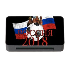 Russia Football World Cup Memory Card Reader With Cf by Valentinaart