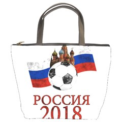 Russia Football World Cup Bucket Bags by Valentinaart
