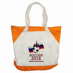 Russia Football World Cup Accent Tote Bag by Valentinaart
