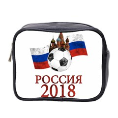 Russia Football World Cup Mini Toiletries Bag 2 Side by Valentinaart