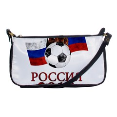 Russia Football World Cup Shoulder Clutch Bags by Valentinaart