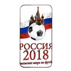 Russia Football World Cup Apple Iphone 4/4s Seamless Case (black) by Valentinaart