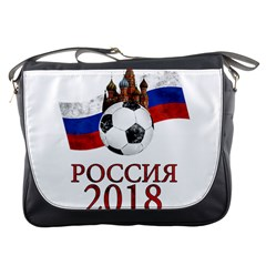 Russia Football World Cup Messenger Bags by Valentinaart