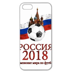 Russia Football World Cup Apple Seamless Iphone 5 Case (clear) by Valentinaart
