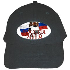 Russia Football World Cup Black Cap by Valentinaart