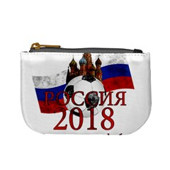 Russia Football World Cup Mini Coin Purses by Valentinaart