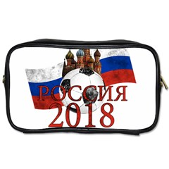 Russia Football World Cup Toiletries Bags 2 Side by Valentinaart
