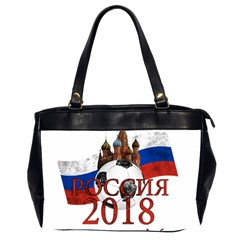 Russia Football World Cup Office Handbags (2 Sides)  by Valentinaart