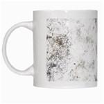 Grunge pattern White Mugs Left
