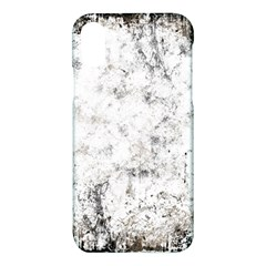 Grunge Pattern Apple Iphone X Hardshell Case by Valentinaart