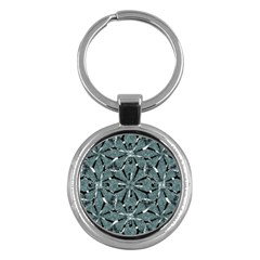 Modern Oriental Ornate Pattern Key Chains (round)  by dflcprints