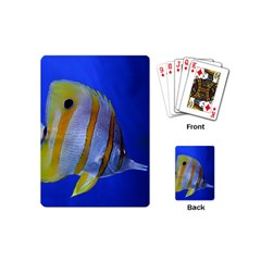Butterfly Fish 1 Playing Cards (mini)  by trendistuff
