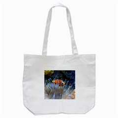 Clownfish 2 Tote Bag (white) by trendistuff