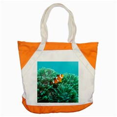 Clownfish 3 Accent Tote Bag by trendistuff