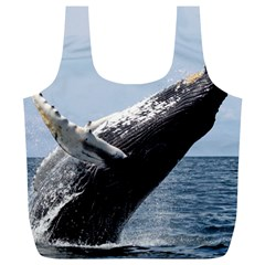 Humpback 2 Full Print Recycle Bags (l)