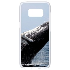 Humpback 2 Samsung Galaxy S8 White Seamless Case by trendistuff