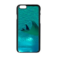 Manta Ray 1 Apple Iphone 6/6s Black Enamel Case