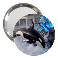Orca 1 3  Handbag Mirrors by trendistuff