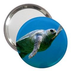 Sea Turtle 2 3  Handbag Mirrors by trendistuff
