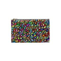 Artwork By Patrick Colorful 6 Cosmetic Bag (small)