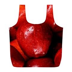 Apples 1 Full Print Recycle Bags (l)  by trendistuff