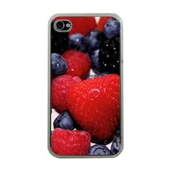Berries 1 Apple Iphone 4 Case (clear) by trendistuff