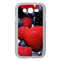 Berries 1 Samsung Galaxy Grand Duos I9082 Case (white) by trendistuff