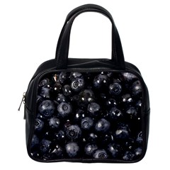 Blueberries 1 Classic Handbags (one Side) by trendistuff