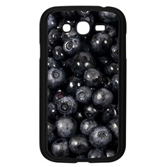Blueberries 1 Samsung Galaxy Grand Duos I9082 Case (black) by trendistuff