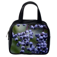 Blueberries 2 Classic Handbags (one Side) by trendistuff