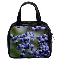 Blueberries 2 Classic Handbags (2 Sides) by trendistuff