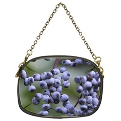 Blueberries 2 Chain Purses (one Side)  by trendistuff