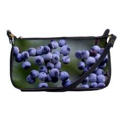 Blueberries 2 Shoulder Clutch Bags by trendistuff