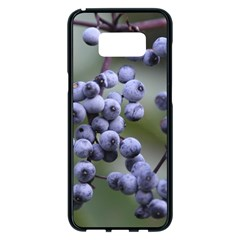 Blueberries 2 Samsung Galaxy S8 Plus Black Seamless Case by trendistuff