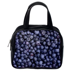 Blueberries 3 Classic Handbags (one Side) by trendistuff