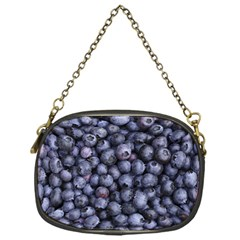 Blueberries 3 Chain Purses (one Side)  by trendistuff