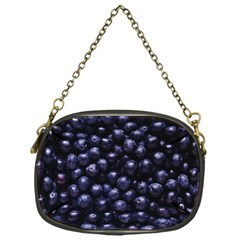 Blueberries 4 Chain Purses (one Side)  by trendistuff