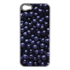 Blueberries 4 Apple Iphone 5 Case (silver)